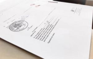 notarinis dokumentu tvirtinimas